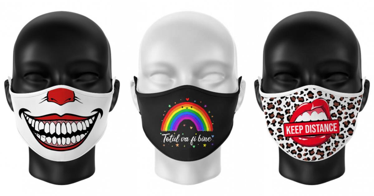masti de gura personalizate