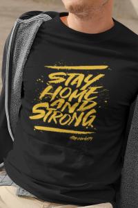 tricou personalizat stai acasa