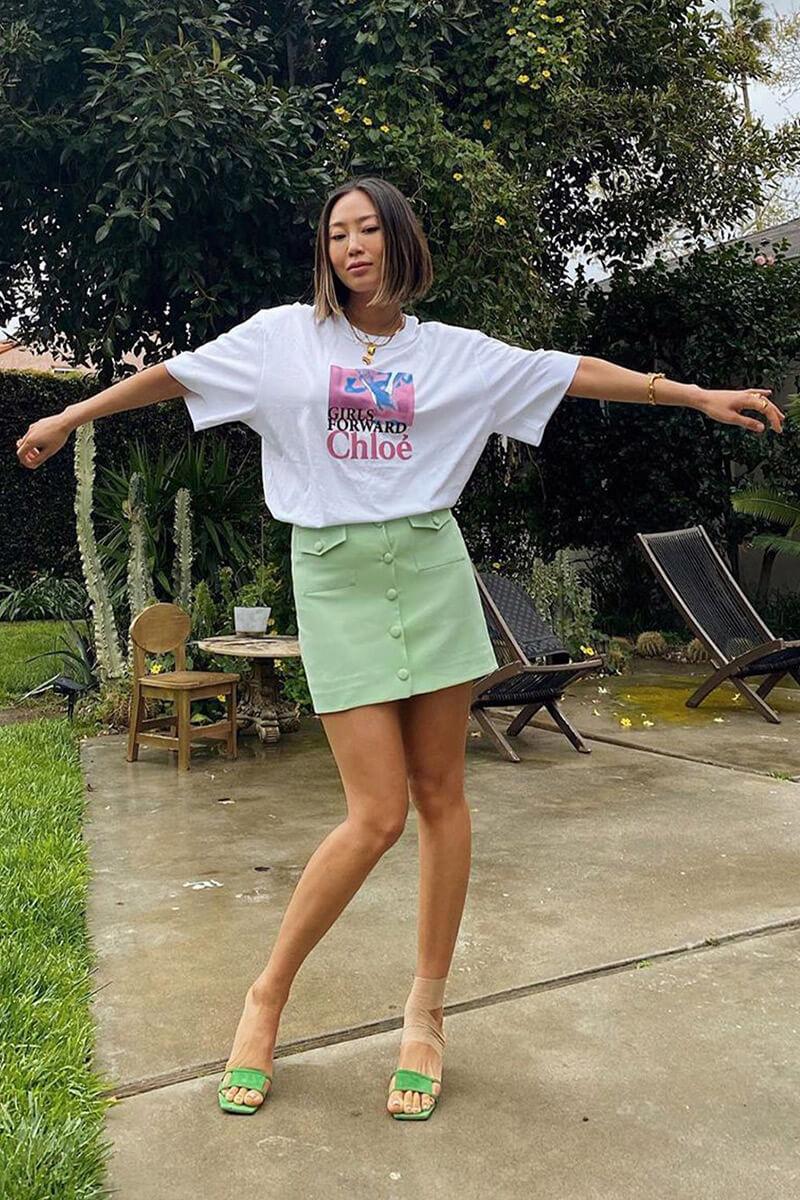tricou oversized