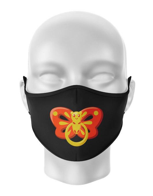 Masca de gura personalizata Butterfly pacifier