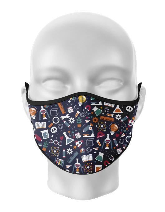 Masca de gura personalizata Experiments