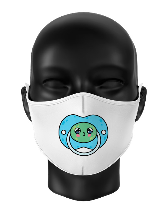Masca de gura personalizata Frog pacifier