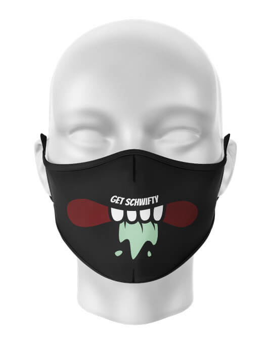 Masca de gura personalizata Get schwifty