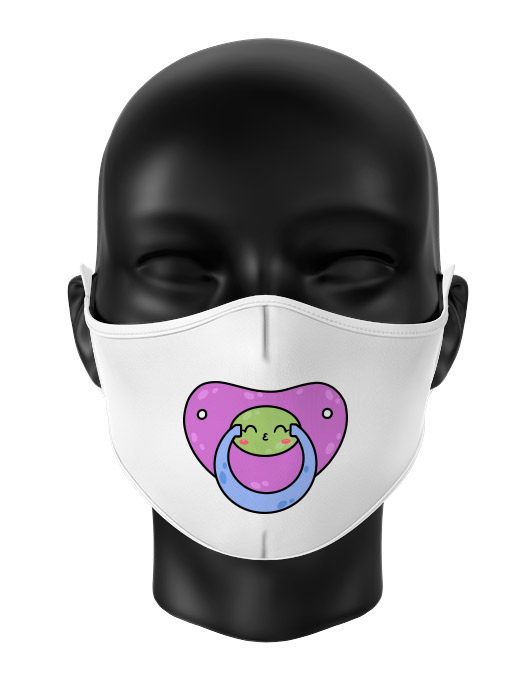 Masca de gura personalizata Kiss pacifier