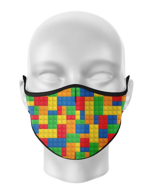 Masca de gura personalizata Lego