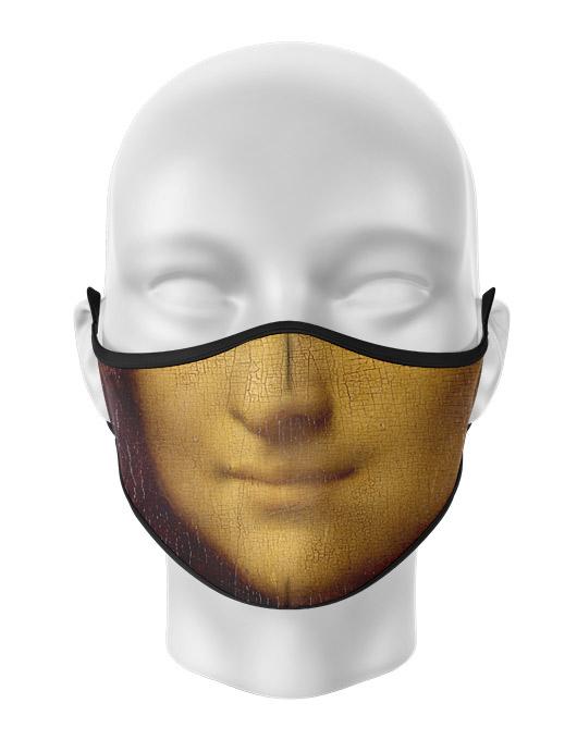 Masca de gura personalizata Mona Lisa