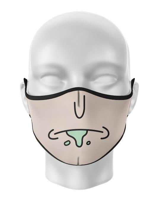 Masca de gura personalizata Moody