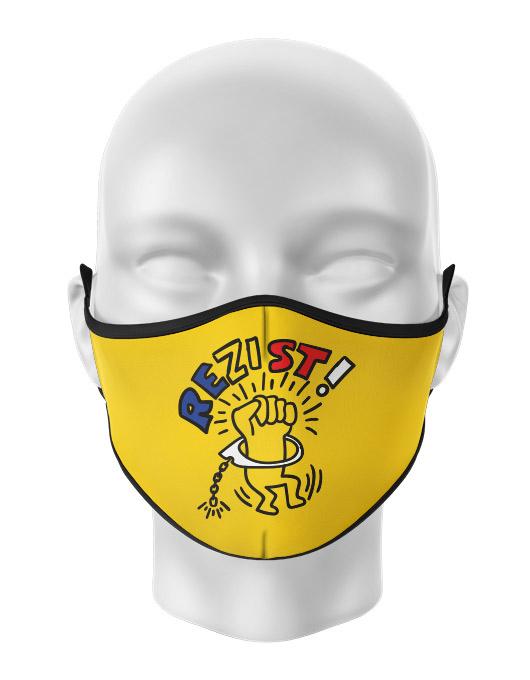 Masca de gura personalizata Rezist 2