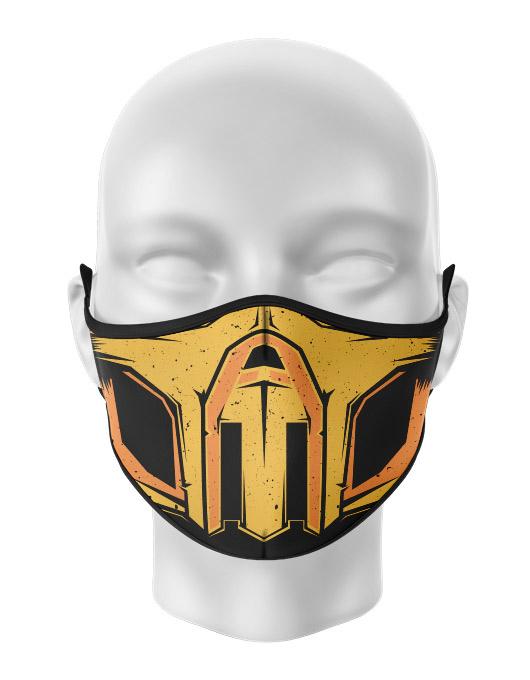 Masca de gura personalizata Scorpion
