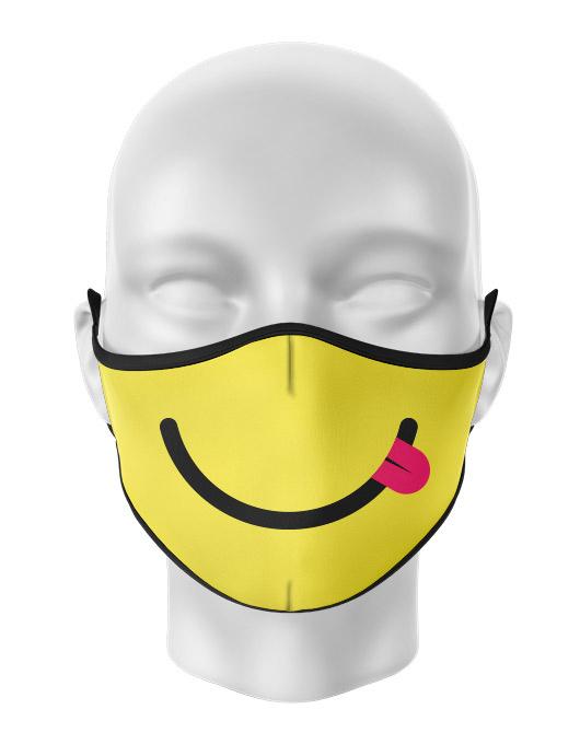 Masca de gura personalizata Silly Smile