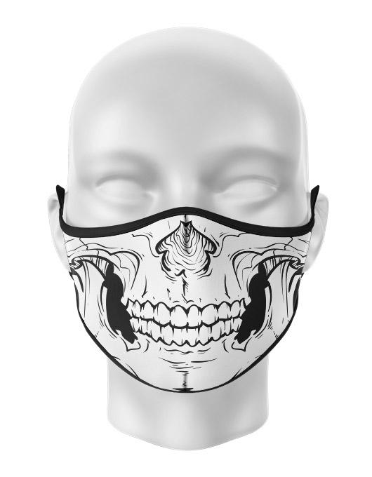Masca de gura personalizata Skull 2