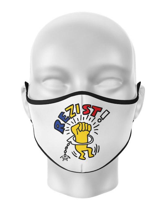 Masca de gura personalizata Rezist