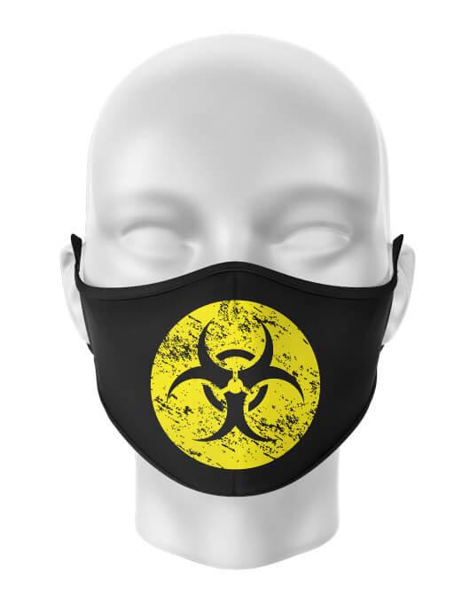 Masca de gura personalizata Biohazard