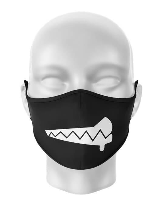 Masca de gura personalizata Angry
