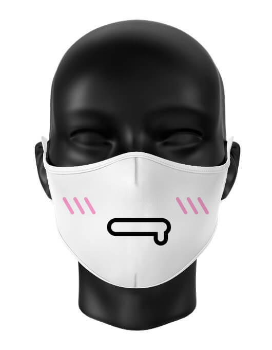 Masca de gura personalizata Emoji