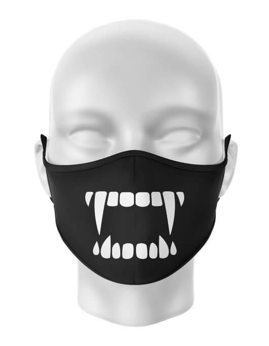 Masca de gura personalizata Fangs