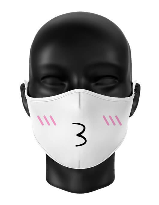 Masca de gura personalizata Kiss