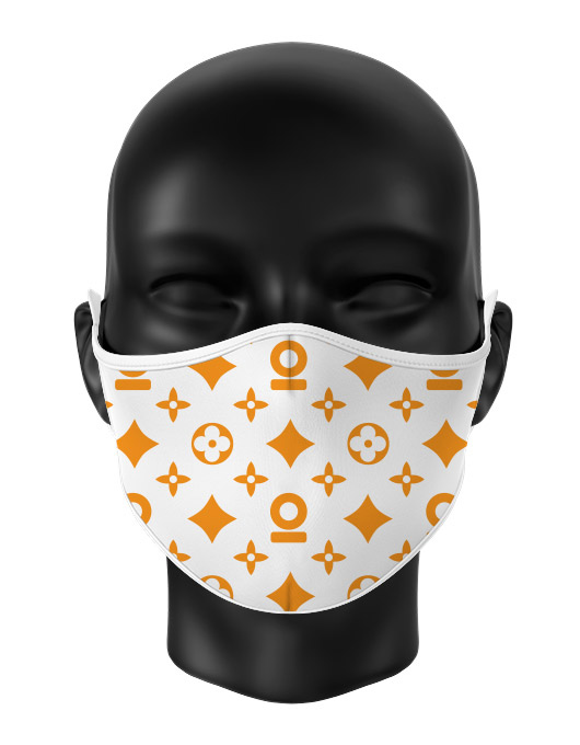 Masca de gura personalizata Luxury pattern