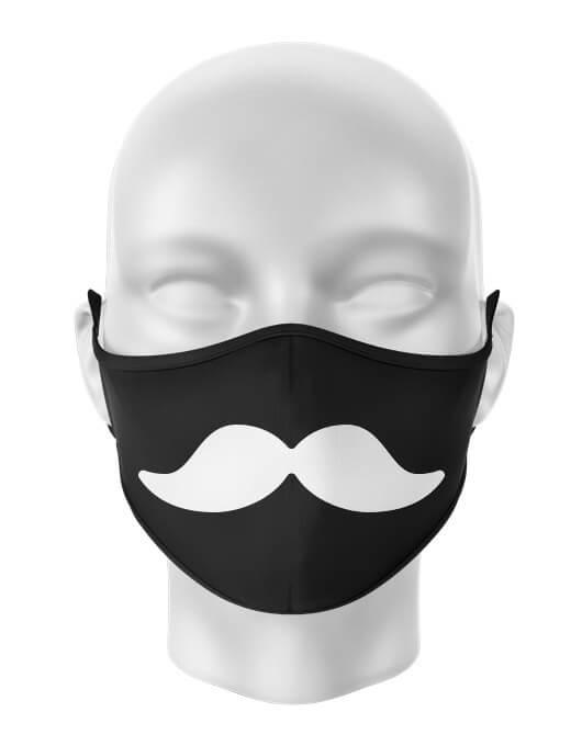Masca de gura personalizata Mustache