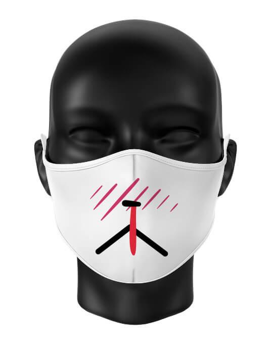 Masca de gura personalizata Sick