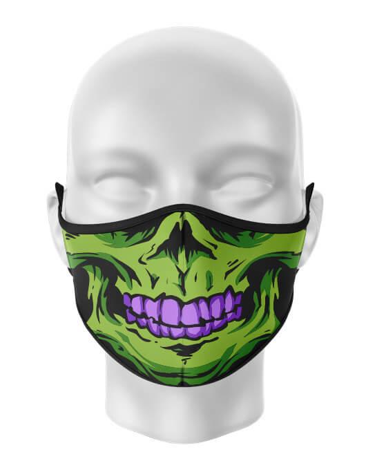 Masca de gura personalizata Skull