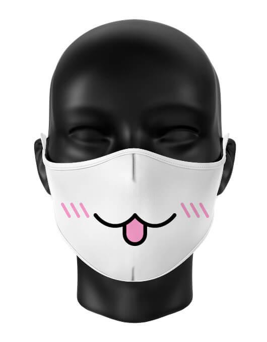 Masca de gura personalizata Tongue