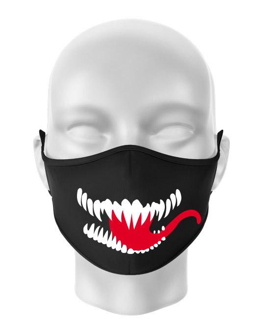 Masca de gura personalizata Venom Smile