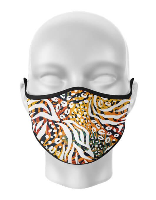 Masca de gura personalizata Africa