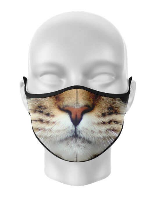 Masca de gura personalizata Cat face