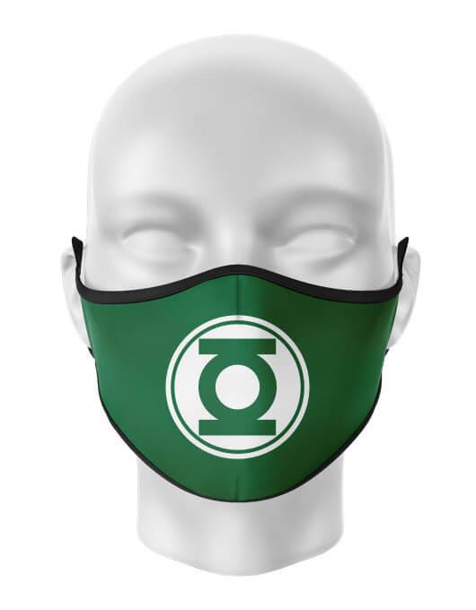 Masca de gura personalizata Green Lantern