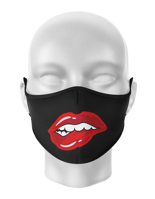 Masca de gura personalizata Lip bite