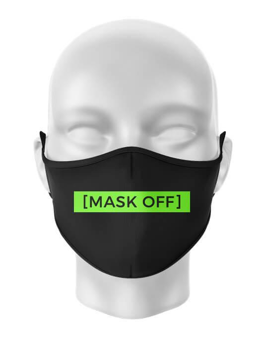 Masca de gura personalizata Mask off