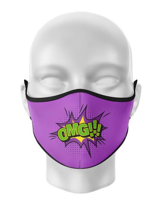 Masca de gura personalizata Oh my God