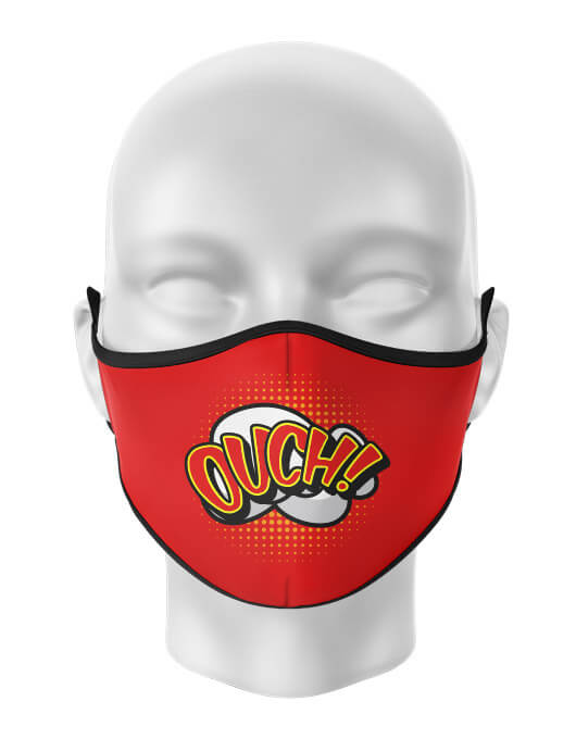 Masca de gura personalizata Ouch