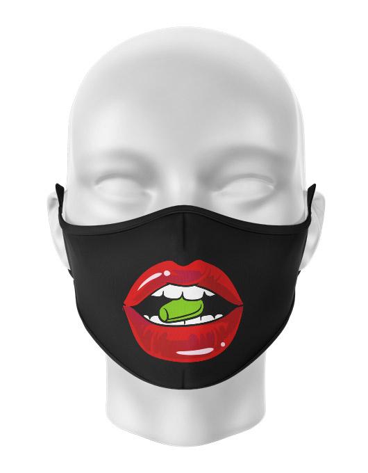 Masca de gura personalizata Pills