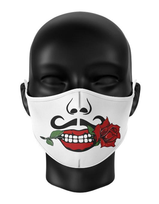 Masca de gura personalizata Romantic