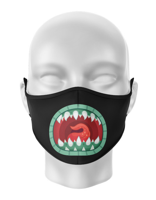 Masca de gura personalizata Scream