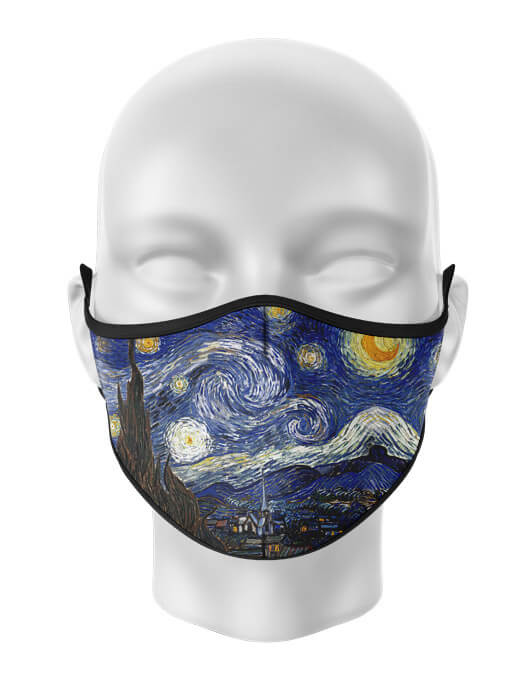 Masca de gura personalizata Starry night