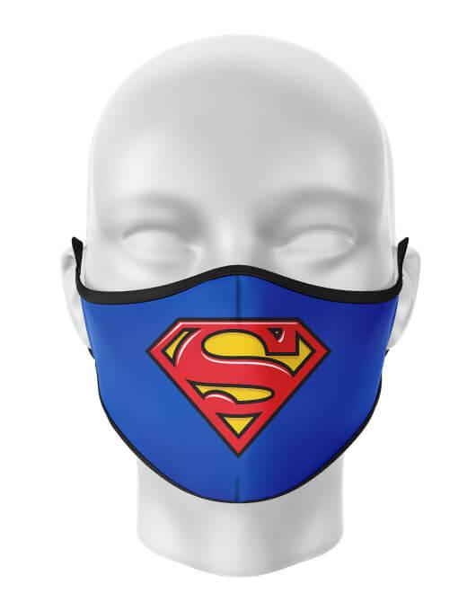 Masca de gura personalizata Superman