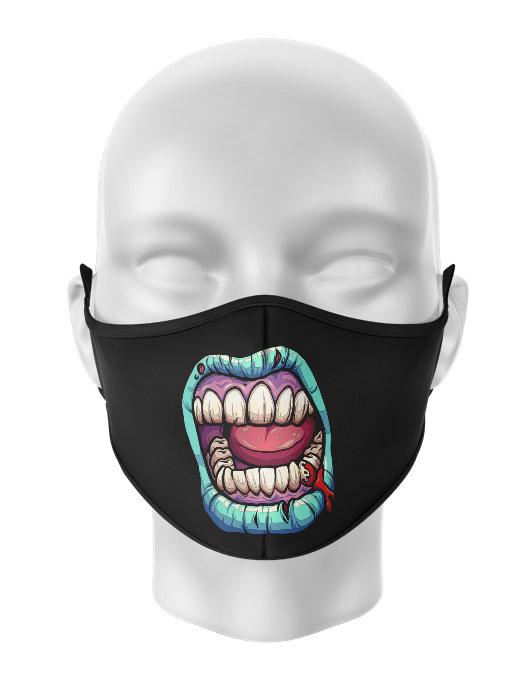 Masca de gura personalizata Zombie scream