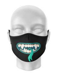 Masca de gura personalizata Silly monster