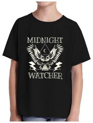 Tricou ADLER copil Midnight Watcher Negru