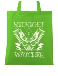 Sacosa din panza Midnight Watcher Verde mar
