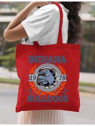 Sacosa din panza Indiana Bulldogs Rosu