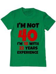Tricou ADLER barbat 40 ani Birthday verde