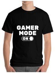 Tricou ADLER barbat Gamer mode on Negru