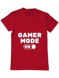 Tricou ADLER barbat Gamer mode on Rosu