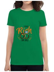 Tricou Burlacite ADLER If you are rich Verde