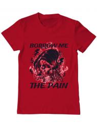 Tricou ADLER barbat Borrow me the pain Rosu