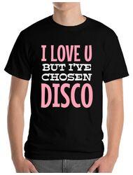 Tricou ADLER barbat I've chosen disco Negru